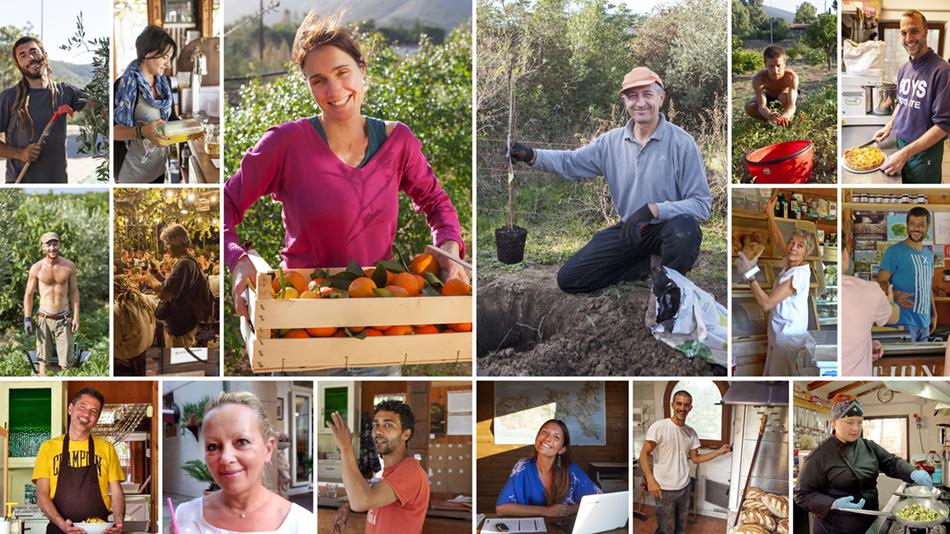 Staff Agriturismo Orti di Mare, Isola d'Elba
