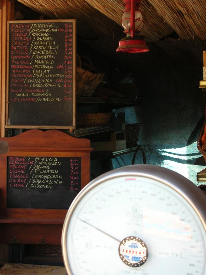 Il market cafè: stile ruspante