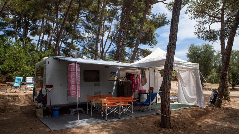 Camping Orti di Mare, Lacona beach - Eiland Elba, Italië