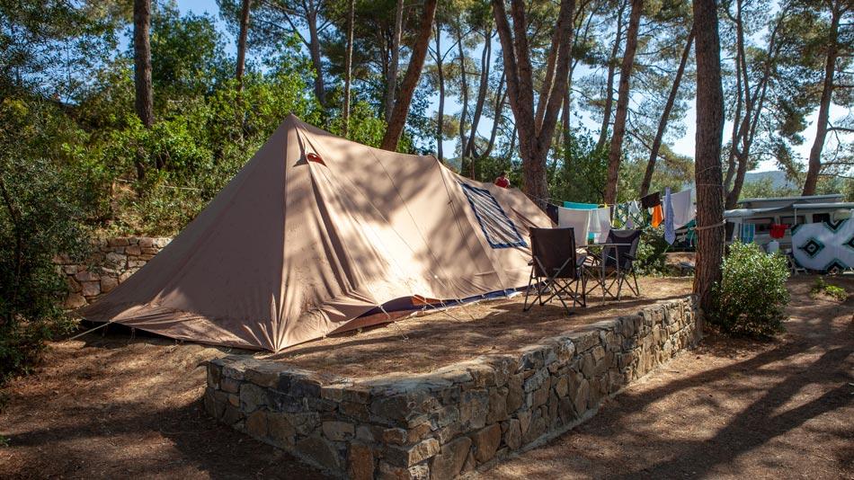 Camping Orti di Mare, Lacona beach - Elba Island, Italy