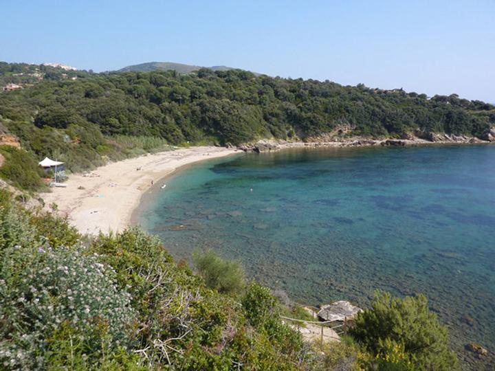 Il paesaggio: la spiaggia a due passi