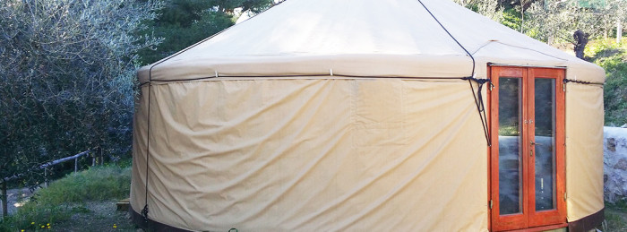 Il camping: Gampling nella nuova Yurta