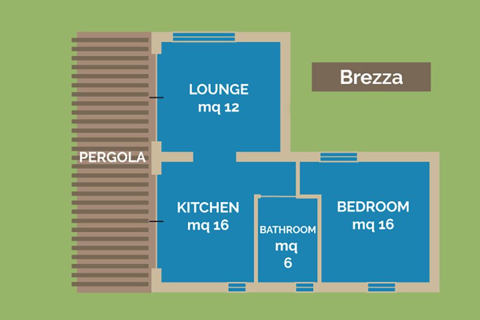 die Wohnung Brezza