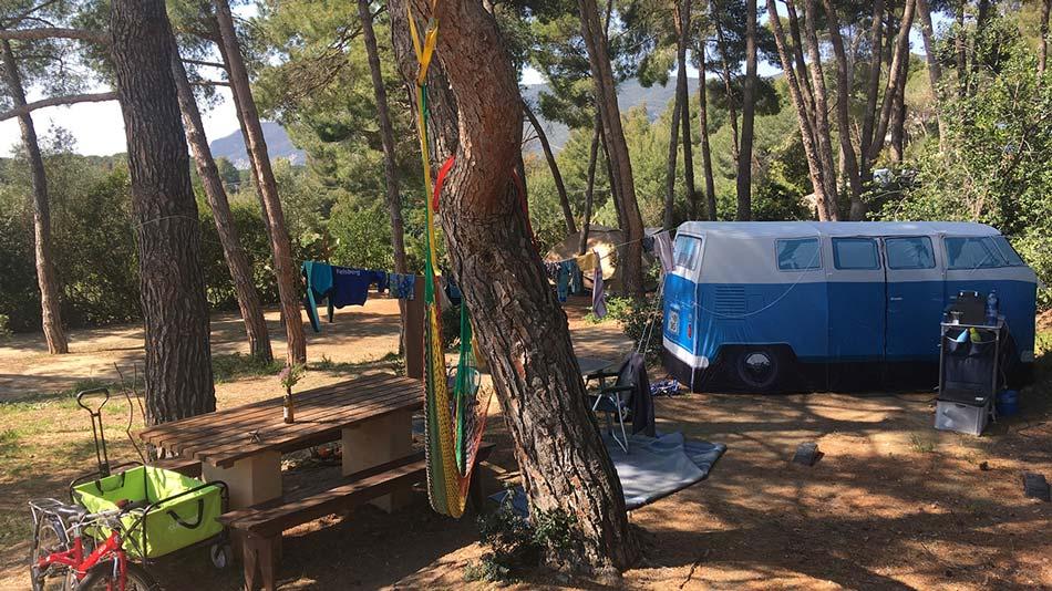 Campingplatz flirten